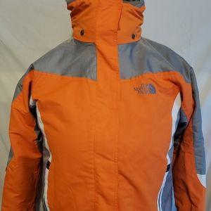 Northface Jacket Orange Medium